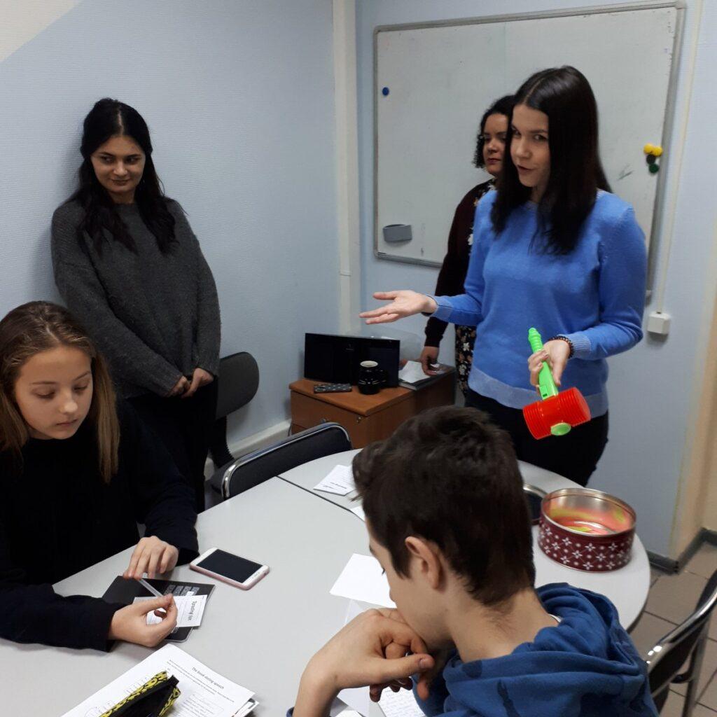 Английский для подростков от 12 до 17 лет